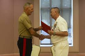 DVIDS - Images - Master Chief Frank E. Johnson Retirement Ceremony [Image  12 of 12]