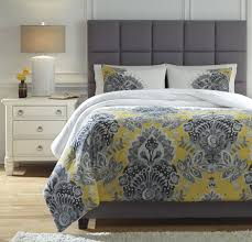 gray and yellow bedding. Brilliant Yellow Maryland Gray And Yellow Comforter Set Throughout And Bedding