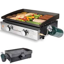 details about indoor gas grill portable outdoor propane griddle flat table top boat kitchen