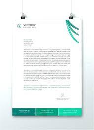 Professional Company Letterhead Professional Letterhead Template Company Business Design