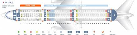 Delta Airlines Aircraft Seating Chart Delta Flight Seating Chart Seating Chart