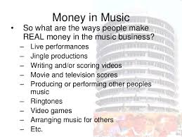 Money Within The Music Industry