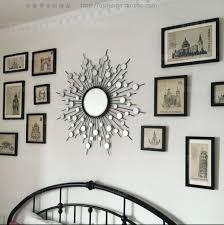 Aliexpress : Buy Metal Wall Mirror Decor Modern Mirrored Wall Throughout  Modern Mirror Wall Art (