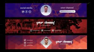 Design A Professional Youtube Channel Art Banner