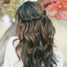 down wedding hair. The 10 Best Half Up Half Down Wedding Hairstyles StyleCaster