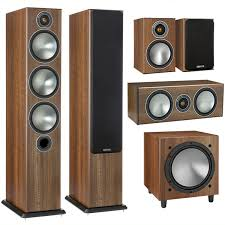 Купить <b>Комплект акустики 5.1 Monitor</b> Audio Bronze set 5.1 walnut ...