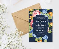 Easy Invitation Templates Wedding Invitation Wording Picmonkey