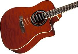 Fender T-Bucket 300CE Quilted Maple/Mahogany Cutaway   Reverb & Fender T-Bucket 300CE Quilted Maple/Mahogany Cutaway Dreadnought w/  Electronics Transparent Amber Adamdwight.com