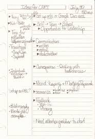 Handwritten Resume Template