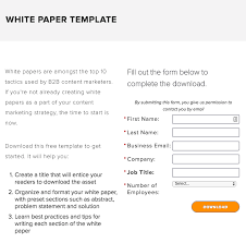 White Paper Format 20 Creative White Paper Template Ideas To Increase Your Lead Capture