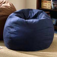 blue bean bags blue fuzzy bean bag chair