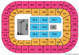Bon Secours Wellness Arena Seating Chart Best Picture Of