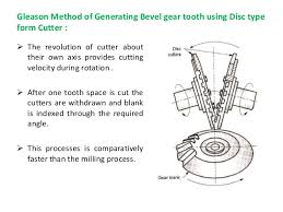 Spur Gear Cutter Selection Chart Gear Manufacturing Processes
