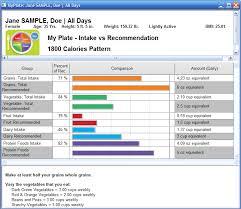 food processor myplate tary intake report