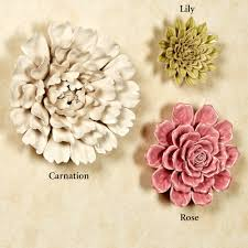 magnificent ceramic flower wall decor image collection art