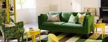 stockholm sofa in sandbacka green 999