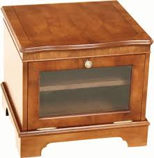 small tv stand glass