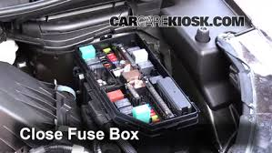 blown fuse check 2012 2016 honda cr v 2015 honda cr v ex 2 4l 4 cyl 6 replace cover secure the cover and test component