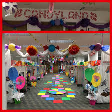 office christmas themes. Cubicle Decorations, Ideas, Candy Land Christmas, Christmas Themes, Crafts, Office Lobby, Themes C