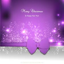 Purple Christmas Card Download Vector Purple Christmas Card Vectorpicker