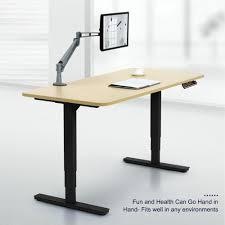 adjustable standing desk office. CO-Z Electric Height Adjustable Standing Desk Office Sit-to-Stand With 3 Presets Frame Only - Walmart.com U