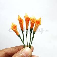 Paper Flower Stems Paper Flower Stems 2 Bouquet Adamkehoe