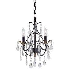 minka lavery 3 light castlewood walnut mini chandelier
