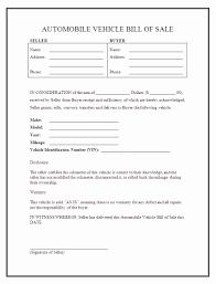 Bill Of Sale Template Word Document Car Bill Of Sale Template Word Basic Basic Bill Sale Template Free