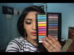 makeup revolution redemption palettes review swatches and in india
