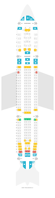 Etihad Flight Seating Chart Seat Map Airbus A330 200 Etihad Airways Find The Best Seats