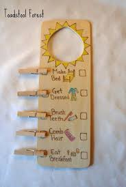 Waldorf Chore Chart Morning Evening Chore Charts These Simple Charts Are