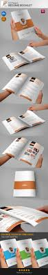 resume booklet resume booklet 10 pages on behance