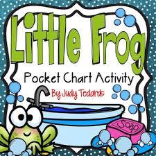 Little Frog Pocket Chart Activity
