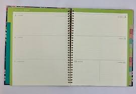 Monthly And Weekly Planners Clementine Paper Monthly Weekly Planner 2019 2020 Spiral