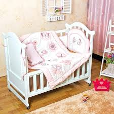 baby girl bedding sets pink 4 item baby girls bedding set embroidery character crib bedding set baby girl bedding sets pink