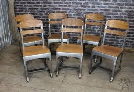 vintage style chairs. Exellent Vintage School Chair Gunmetal Eton For Vintage Style Chairs Y
