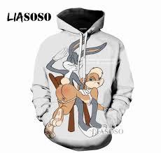 2019 LIASOSO <b>2018 New Cartoon</b> Cute Bugs <b>3D</b> Print Women Men ...