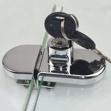 glass display cabinet showcase locks