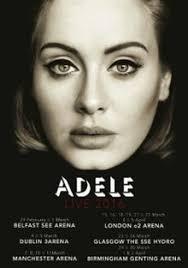 United Center Seating Chart Adele Adele Live 2016 Wikipedia