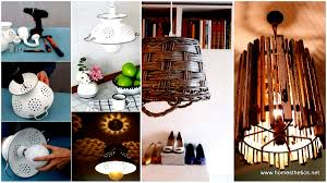 into lighting. Recycle Old Items Into DIY Budget Lighting Projects That Will Make Your Home Shine