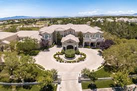 the mansion at 9511 kings gate court in las vegas seen above sold for