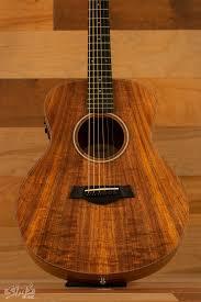 taylor taylor gs mini e koa acoustic electric guitar