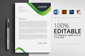Corporate Letterhead Template 20 Letterhead Templates In Psd Ms Word
