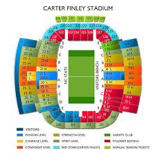 Carter Finley Seating Chart Carter Finley Stadium 2019 Seating Chart