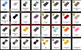 Cerakote Color Chart Finishes St Louis Cerakote Professional And Certified