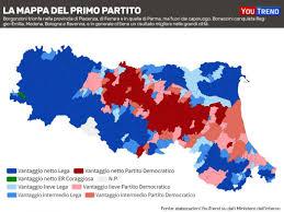 Elezioni regionali in Emilia-Romagna, ecco la mappa del voto ...