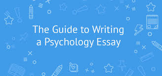 how to write an excellent psychology essay at university