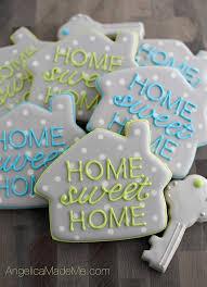 housewarming party cookies