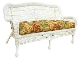 wicker settee cushion wicker cushion rattan corner sofa cushion covers