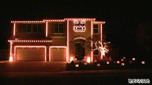 Christmas Lights House Synchronized Music Halloween Light Show A House With Led Lights Synchronized